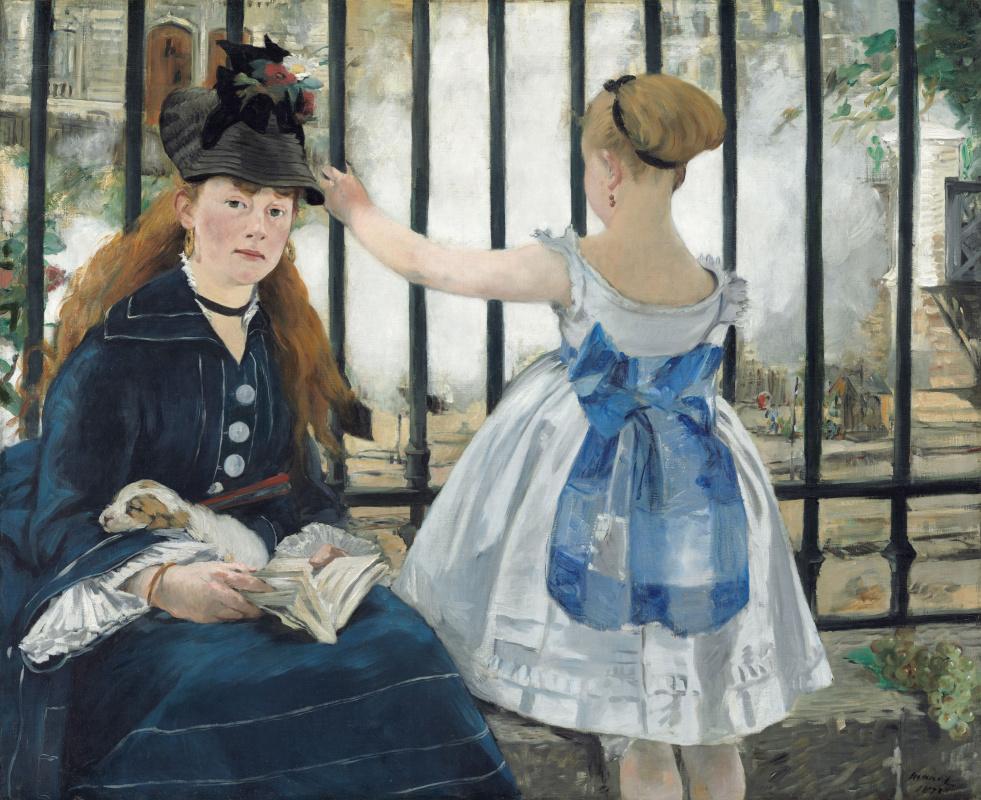 Edouard Manet. Railroad