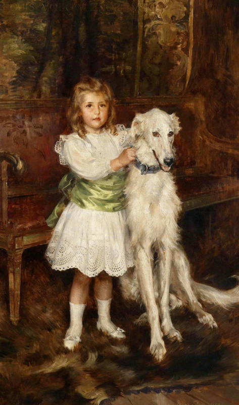 Charles Burton Barber. Greyhound