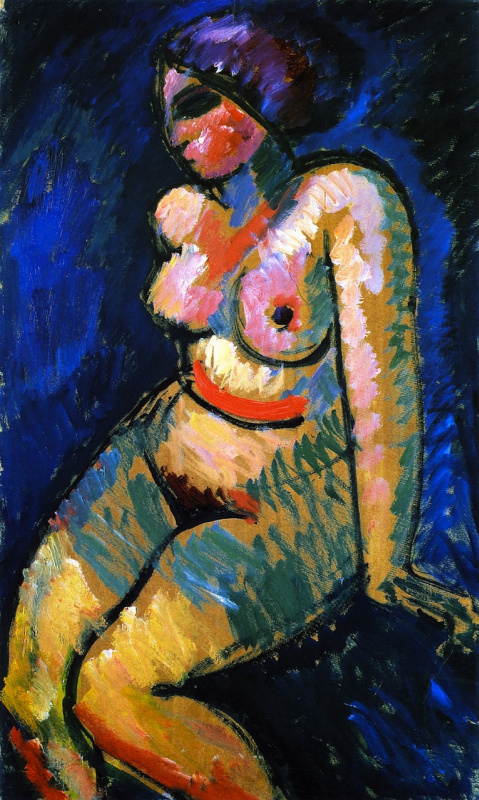 Alexey Georgievich Yavlensky. The naked woman