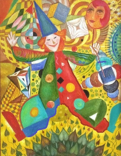 Vladimir Petrovich Chernov. Flying clown