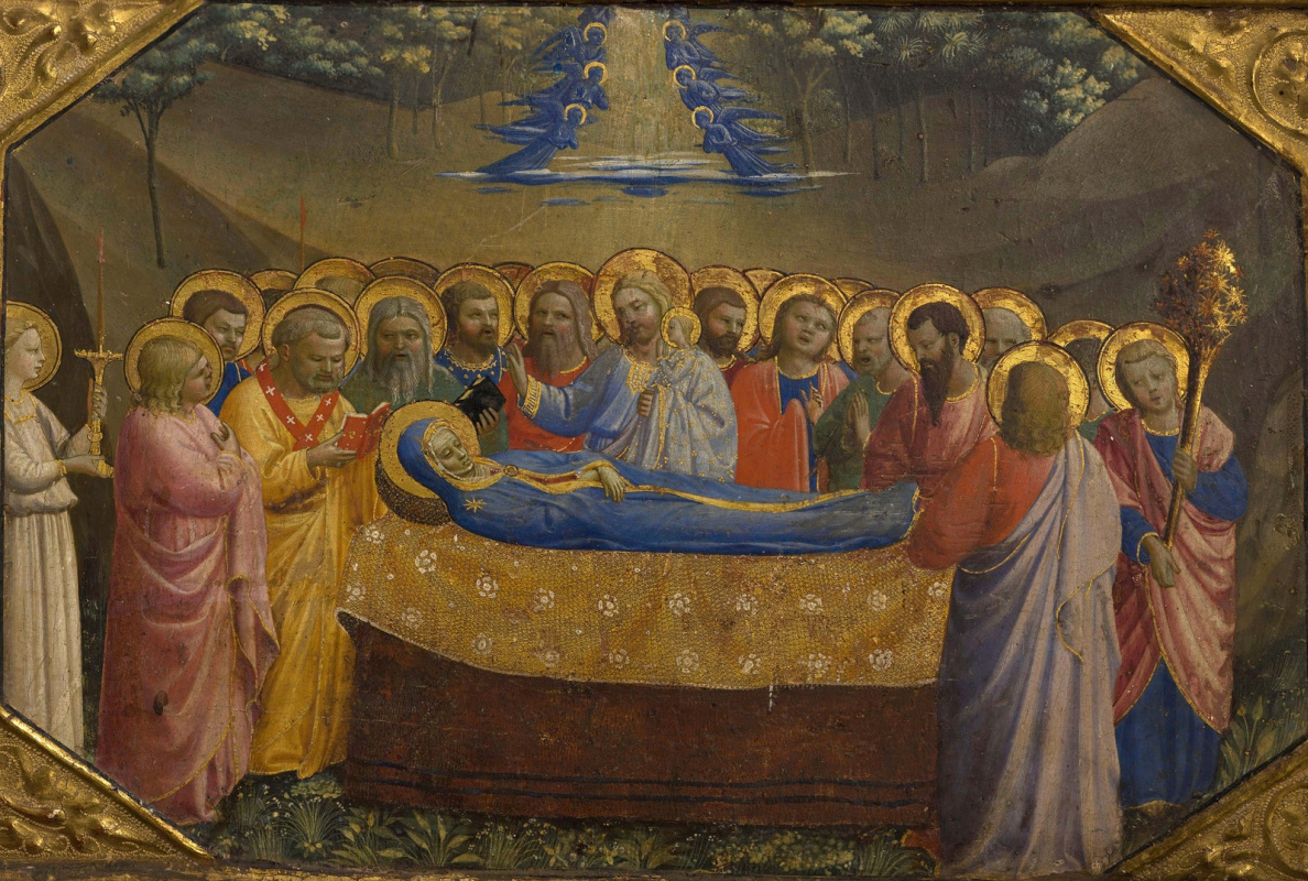 Fra Beato Angelico. Assumption of Our Lady. Preamble altar Annunciation of Mary