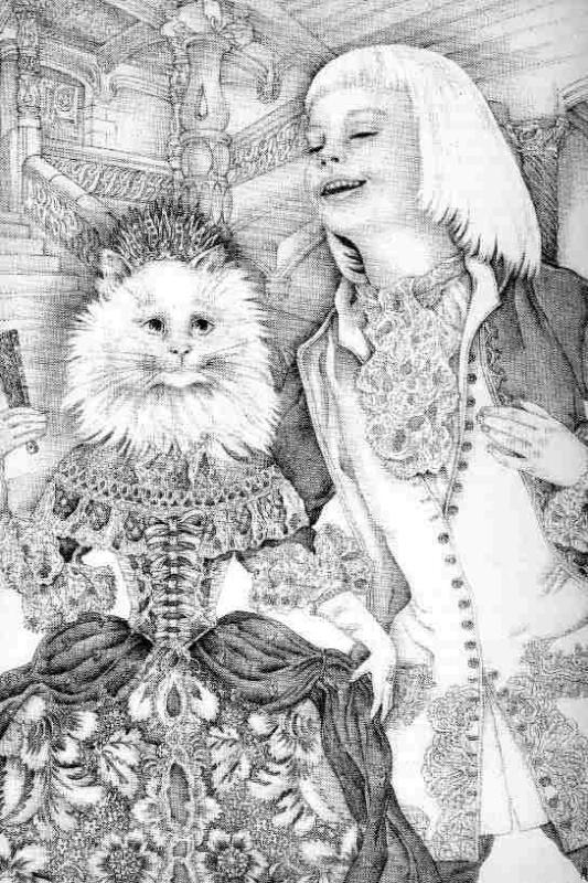 Королева-кошка 01