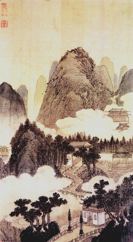 Шен Чжоу. Пейзаж 035