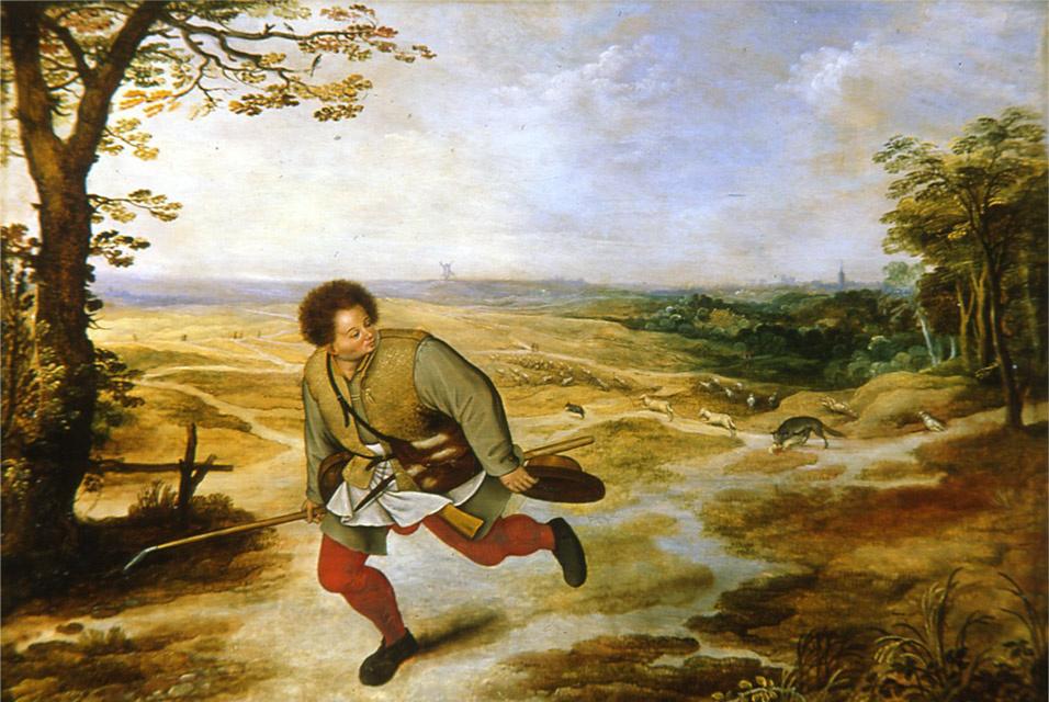 Peter Brueghel The Younger. Bad shepherd