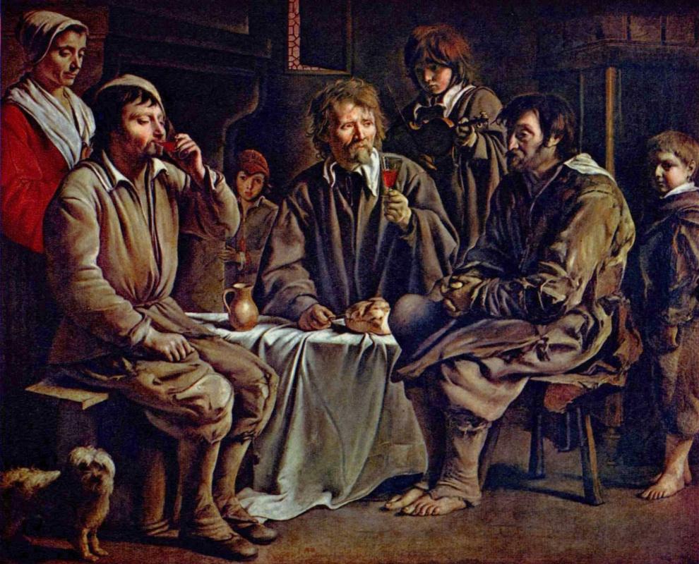 Антуан, Луи и Матье Ленен. Крестьянская свадьба