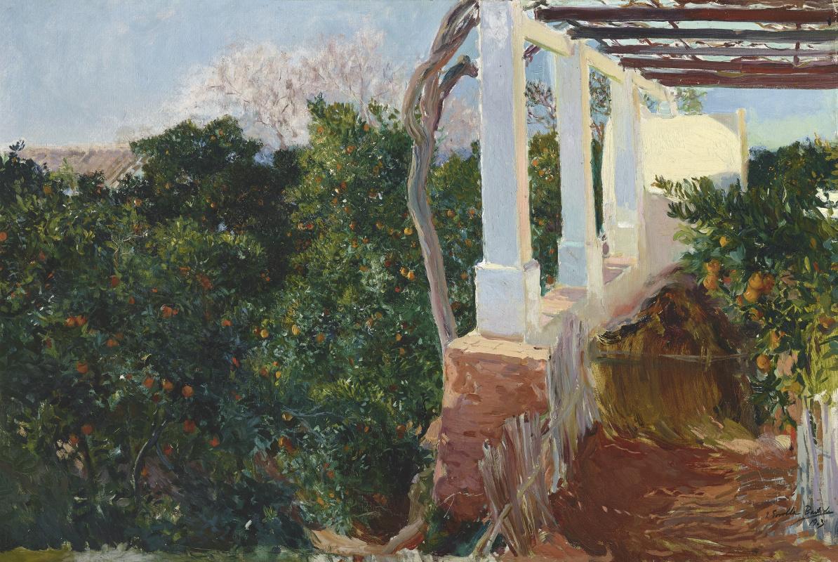 Хоакин Соролья (Соройя). Сельский дом в Альрике