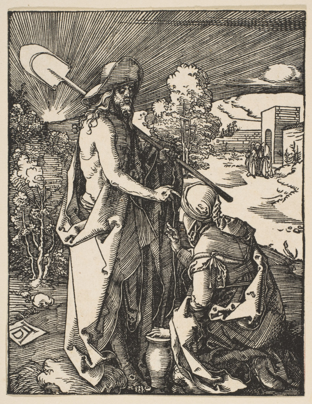 Albrecht Durer. The Appearance Of Christ To Mary Magdalene