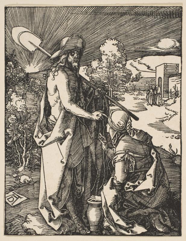 Albrecht Dürer. The Appearance Of Christ To Mary Magdalene