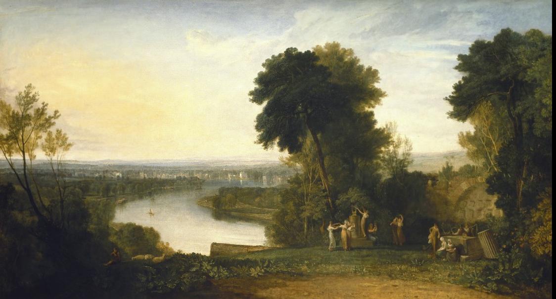 Joseph Mallord William Turner. Aeolian harp Thomson