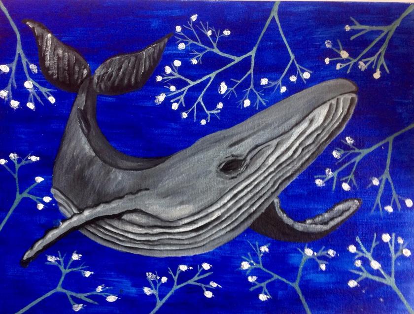 Liza Ugacheva. Whale