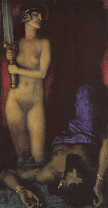 Франц фон Штук. Обнаженная и меч
