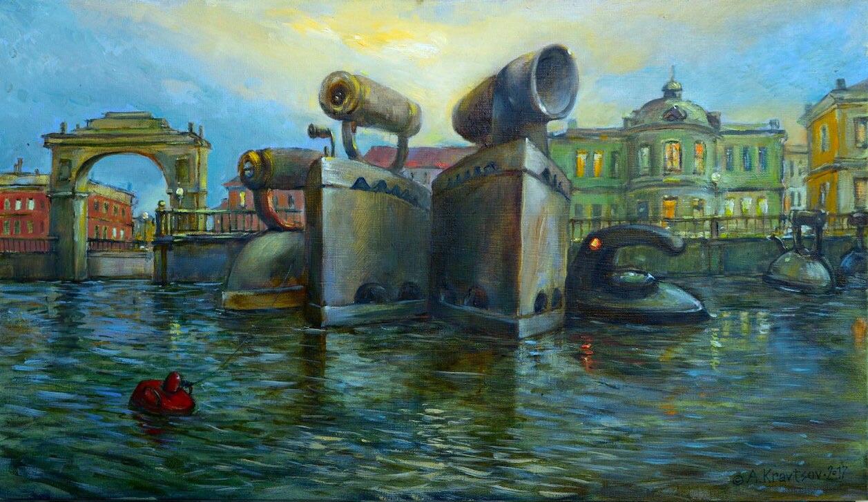 Alexander Ivanovich Kravtsov. At berth 3