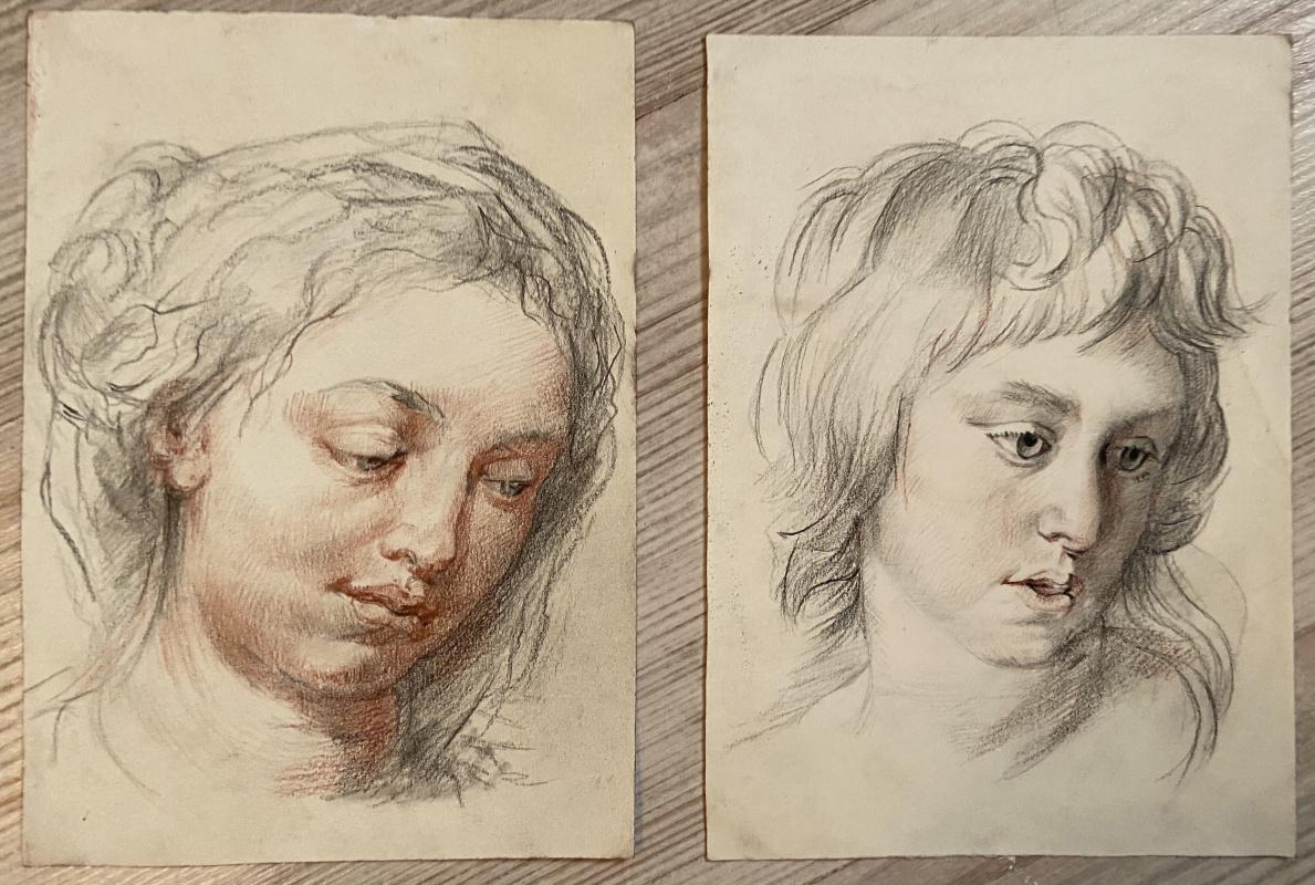 Maria Alexandrovna Vladimirova. Copy of michelangelo
