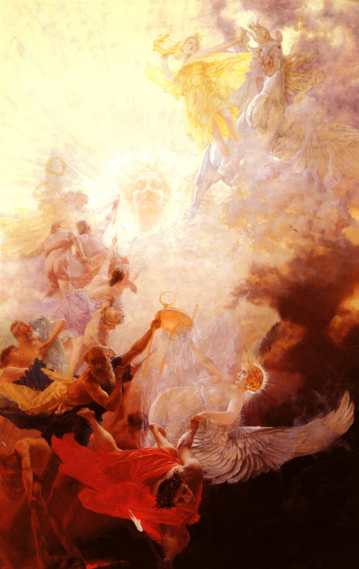 Франц фон Мач. В победе света над тьмой