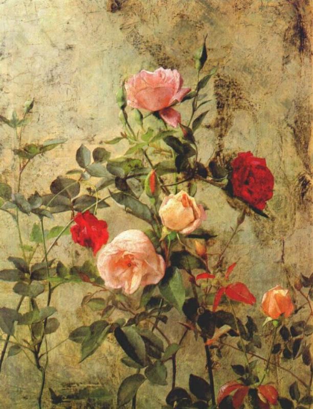 Джордж Кокран Ламбдин. Розы