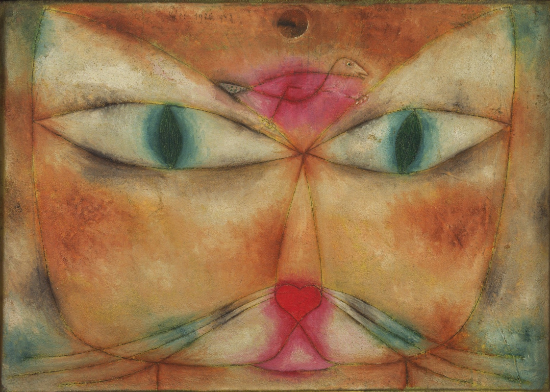 Paul Klee. A cat and a bird