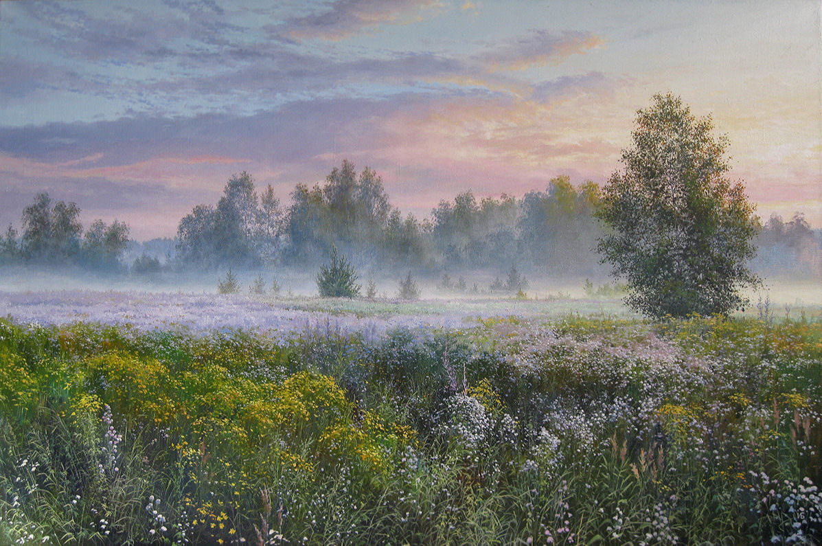 Ivan Nikolaevich Bulygin. Scented morning