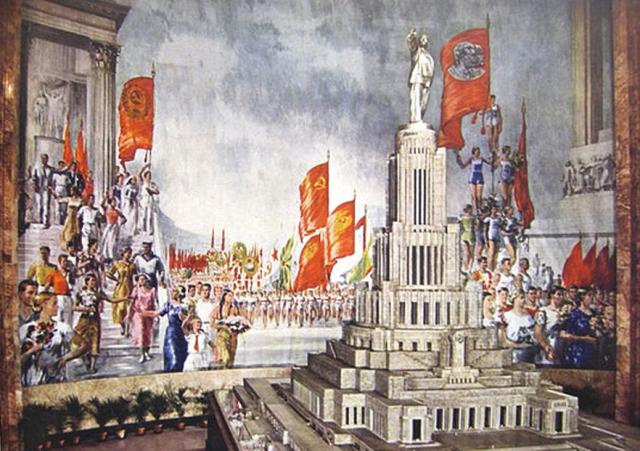 Yuri Ivanovich Pimenov. Физкультурный парад