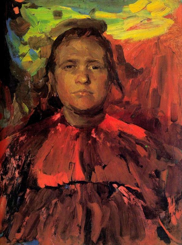 Philip Andreevich Malyavin. Baba