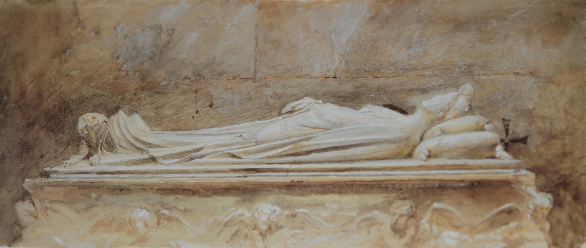 Джон Рёскин. Гробница Илария дель Карретто в Лукке