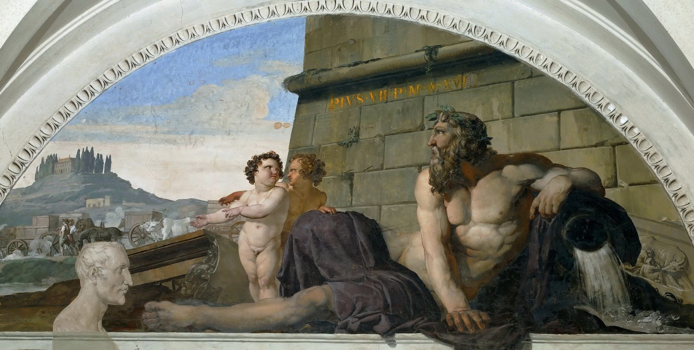 Francesco Ayets. Return to Rome of works of art stolen by Napoleon
