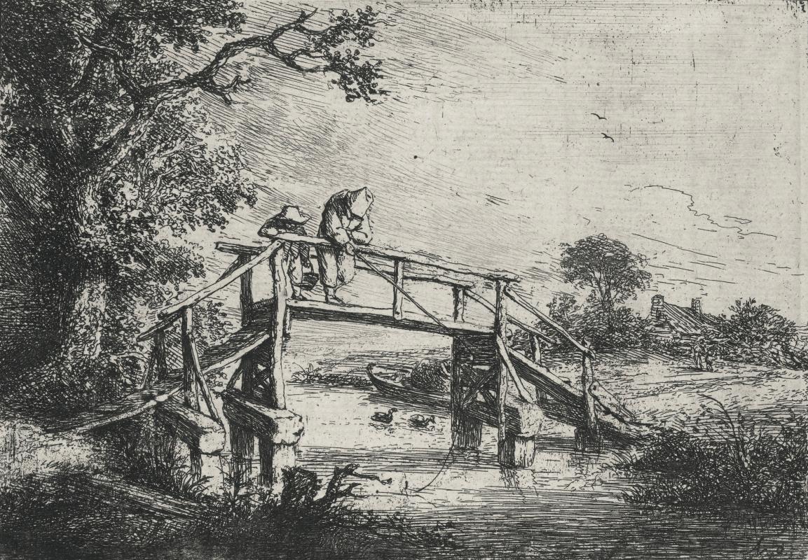 Adrian Jans van Ostade. Fishermen