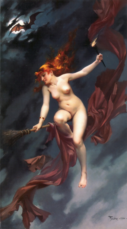 Луис Рикардо Фалеро. Ведьма