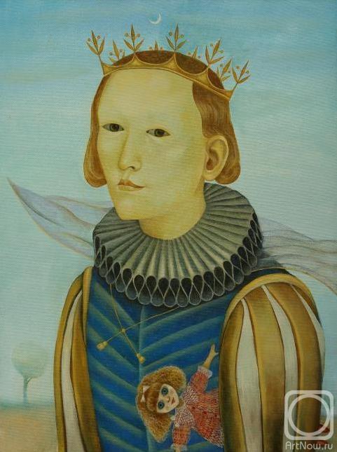Ira Zaitseva. The Prince of the moon and dolls