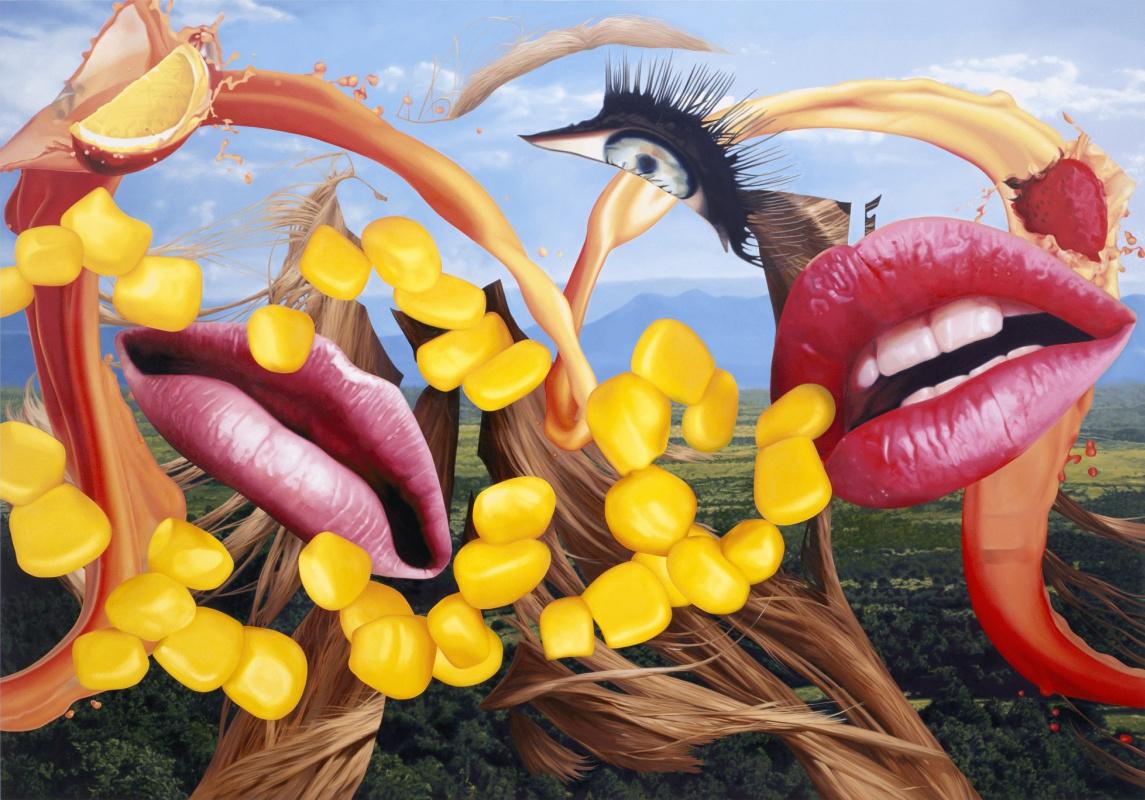 Jeff Koons. Lips
