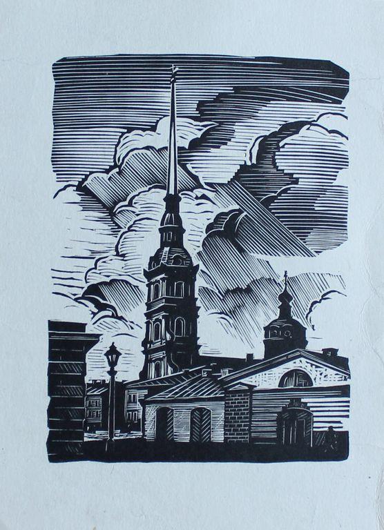 Andrei Alekseevich Ushin. Петропавловский собор
