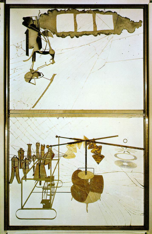 Marcel Duchamp. The Bride Stripped Bare by Her Bachelors, Even