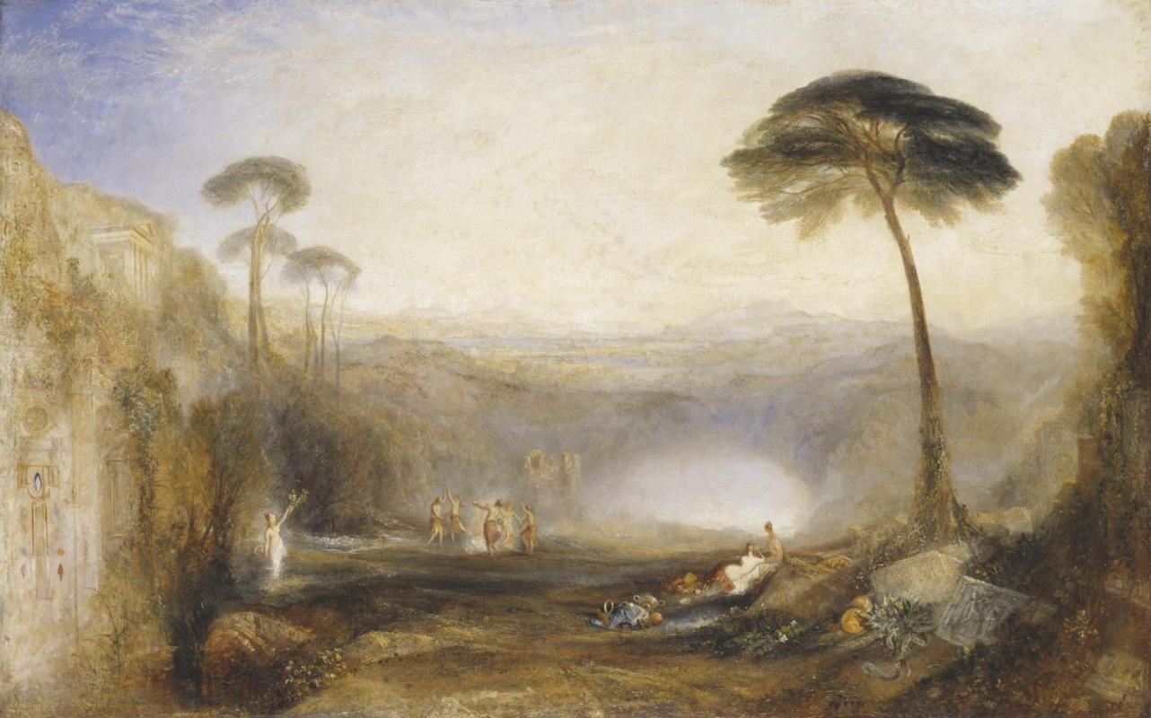 Joseph Mallord William Turner. The Golden bough