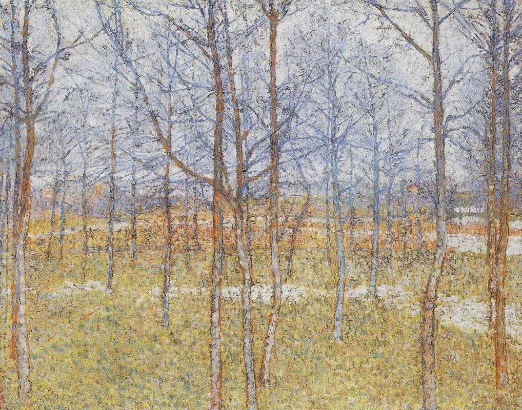 Kazimir Malevich. Spring landscape