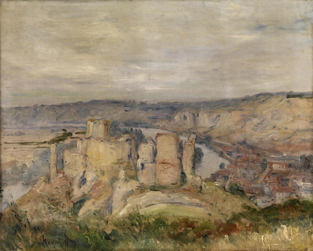 Konstantin Pavlovich Kuznetsov. Landscape with a fortress