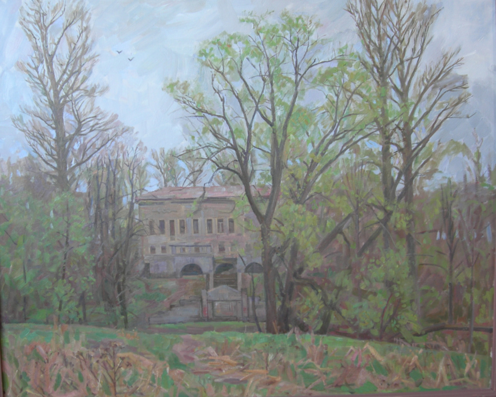 Eugene Alexandrovich Kazantsev. Manor in Pushchino. The first greens.