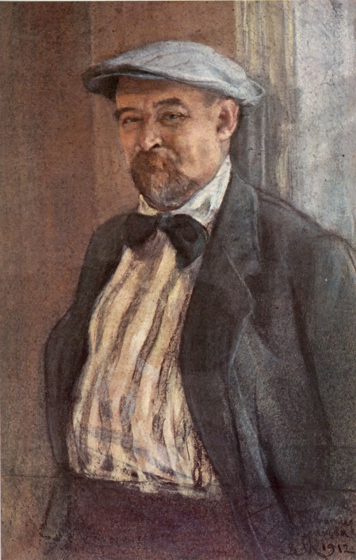 Сергей Васильевич Малютин. Портрет Василия Васильевича Переплетчикова