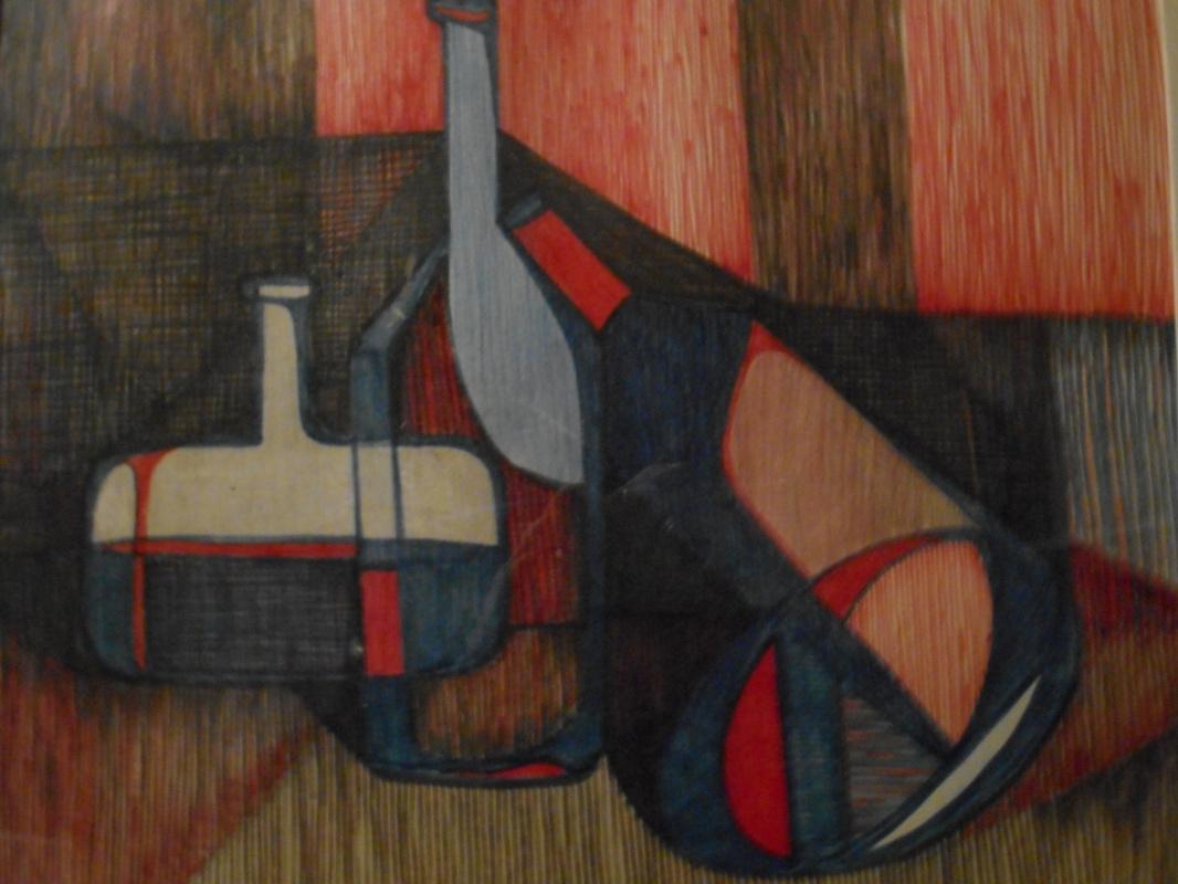 Nino Archilovna Givishvili. Abstract still life.