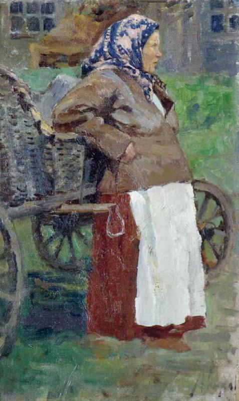 Михаил Иванович Авилов. Пермская баба. 1918