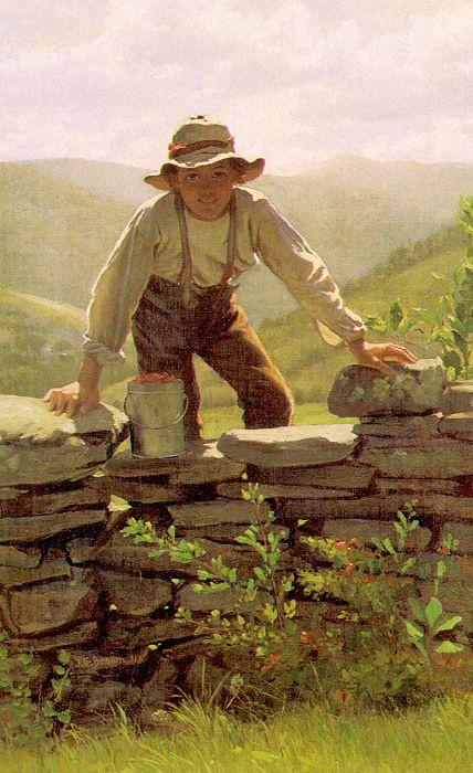 Джон Джордж Браун. Мальчик
