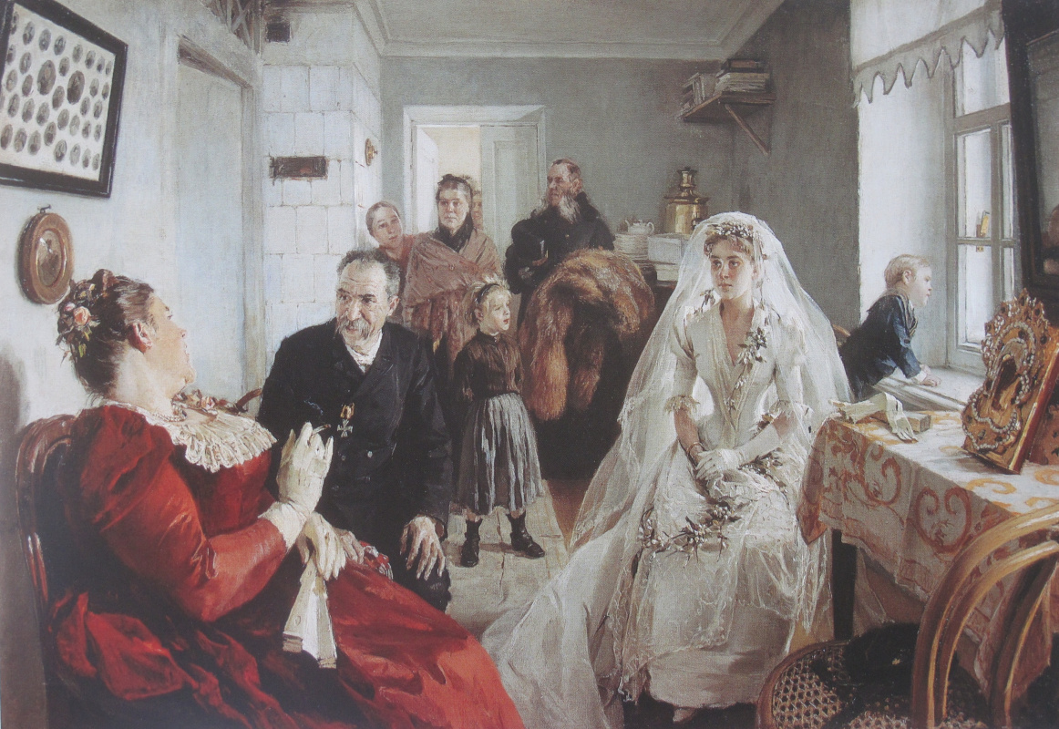 Illarion Mikhailovich Pryanishnikov. Waiting for the best man