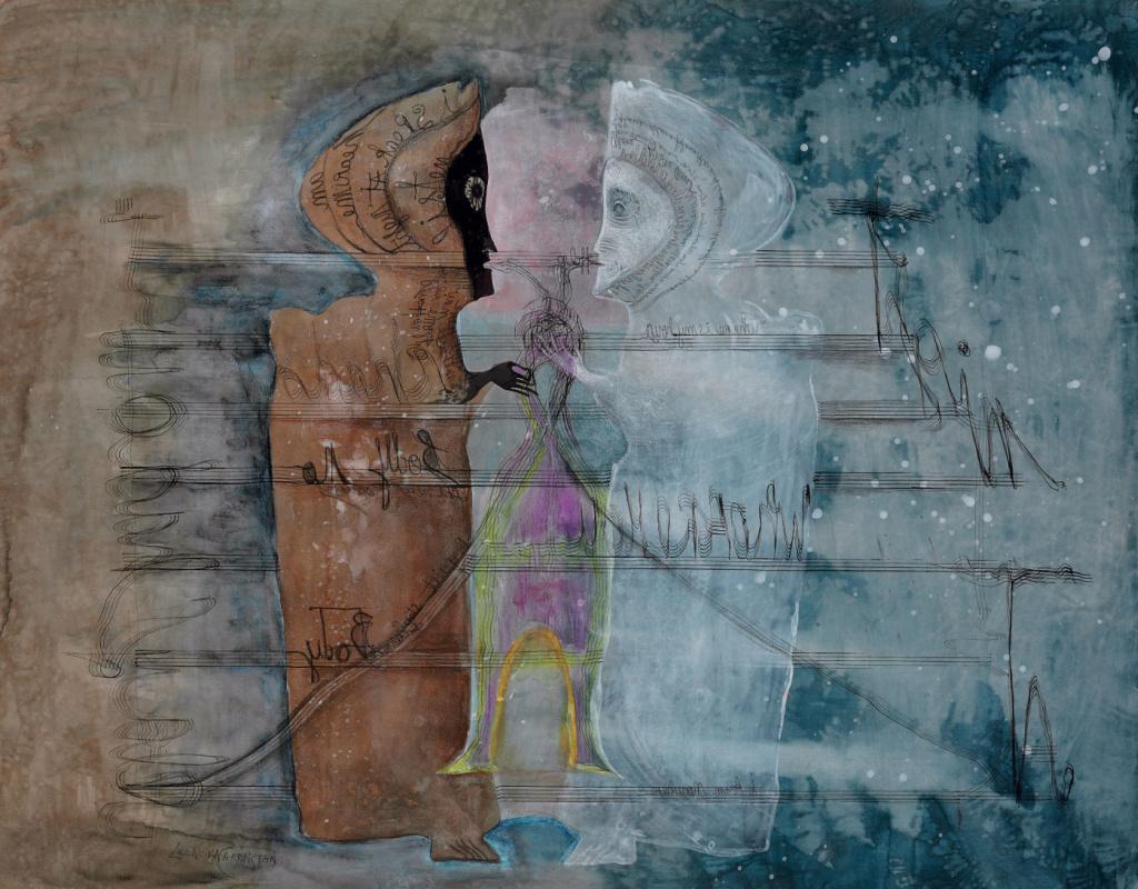 Leonora Carrington. A game of shadows
