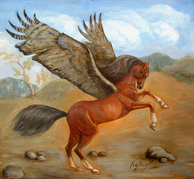 Alexander Pavlovich Kurganov. Pegasus