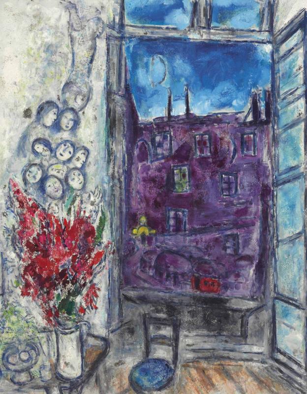 Marc Chagall. Window