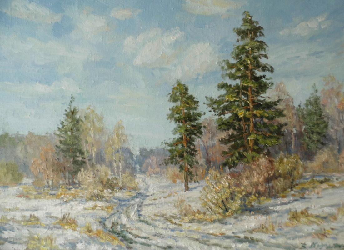 Victor Vladimirovich Kuryanov. Forest Road