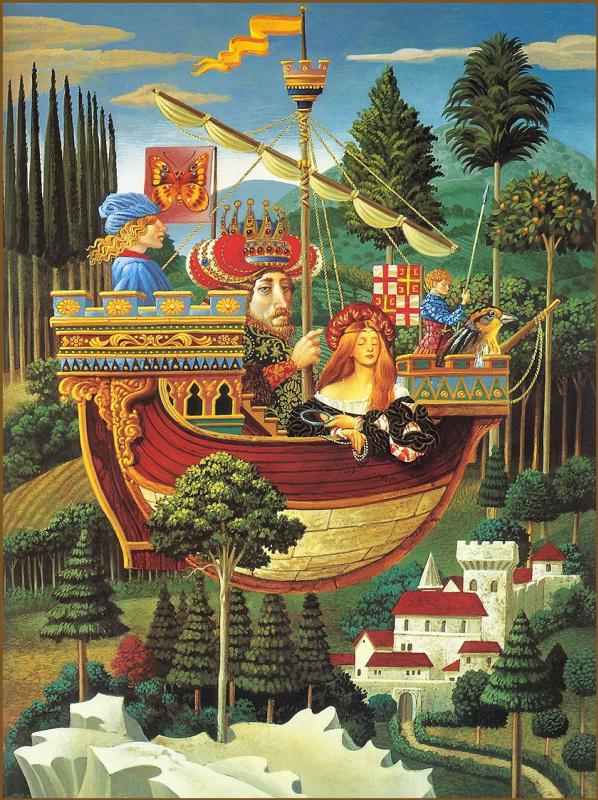 Джеймс Кристенсен. Император Константинополя