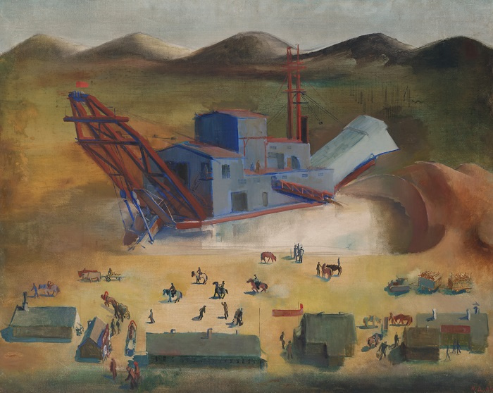 "Nikolay Fedorovich Denisovsky. Electric dredge. Mine ""Red Stan"""