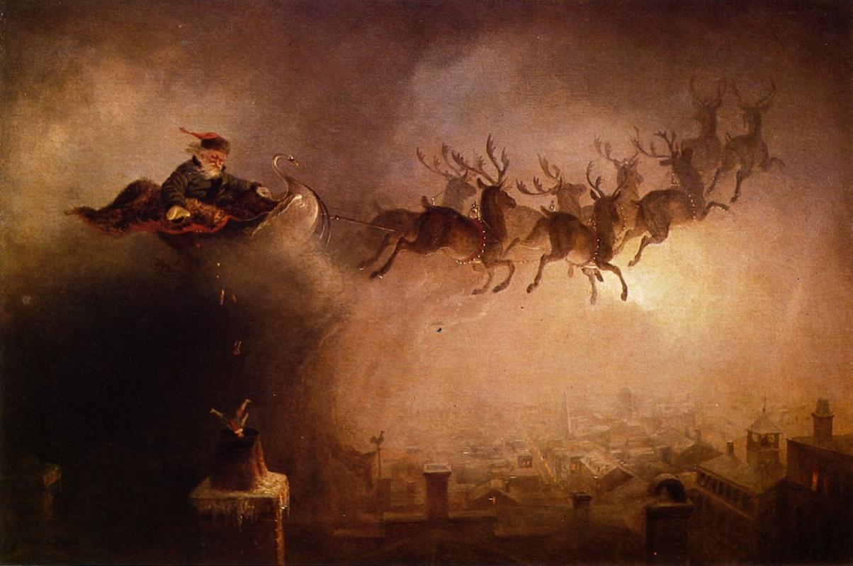 William Holbrook Byrd. Santa Claus