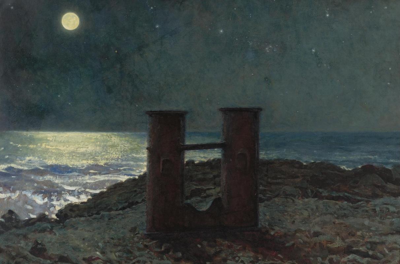 Jamie Wyeth. Moonlit night