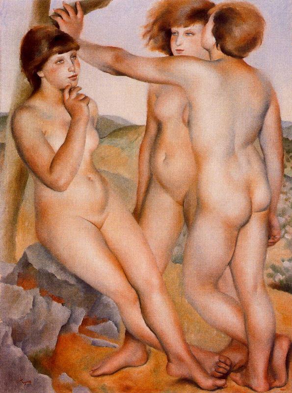 Хосе де Тогорес. Три обнаженные женщины