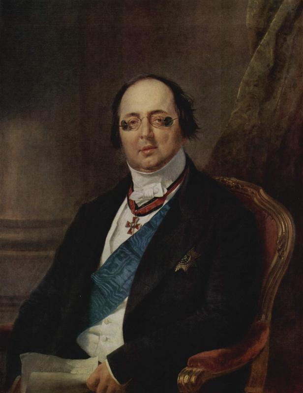 Франц Крюгер. Портрет графа Александра Кушелева-Безбородко
